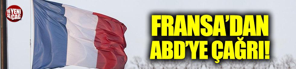 Fransa'dan ABD'ye çağrı