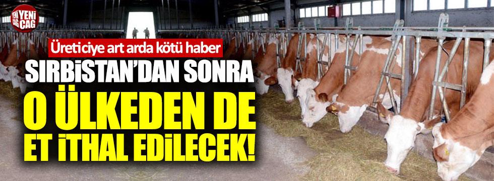 Sırbistan'dan sonra Ukrayna'dan da et ithal edilecek!