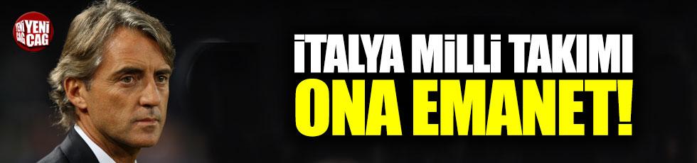 İtalya Milli Takımı Mancini'ye emanet