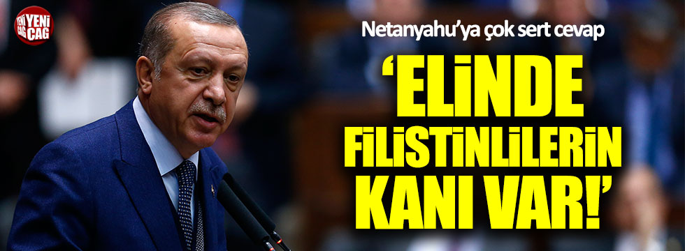 Erdoğan'dan Netanyahu'ya çok sert cevap