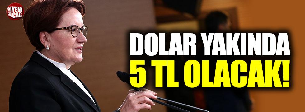 Akşener'den dolar açıklaması