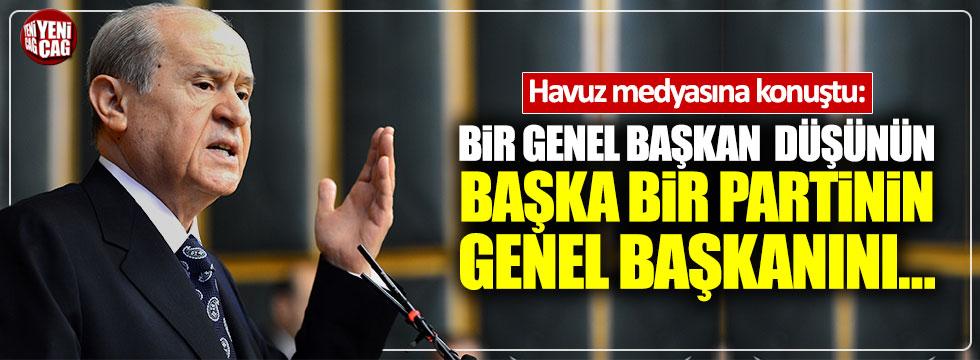 """Bahçeli: """"Erdoğan'ı aday göstermemizden tabanımız rahatsız değil"""""""