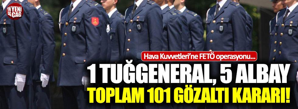 Hava Kuvvetleri'ne FETÖ operasyonu