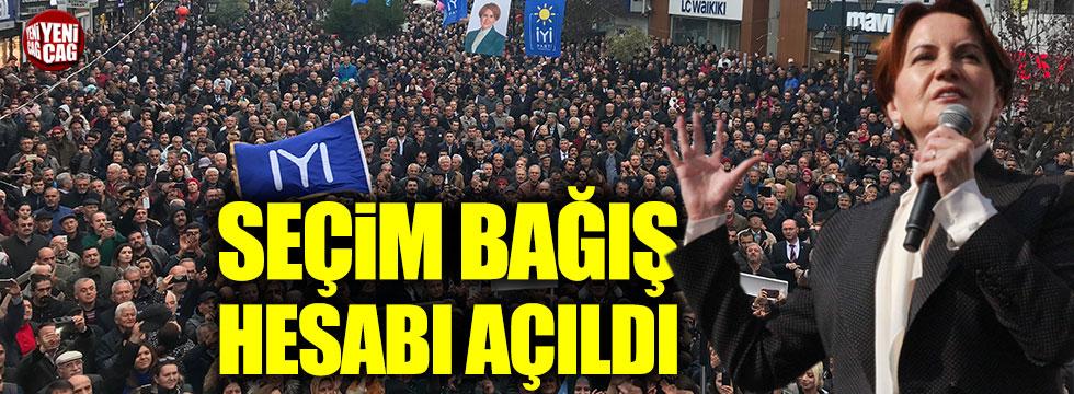 Meral Akşener için seçim bağış hesabı açıldı