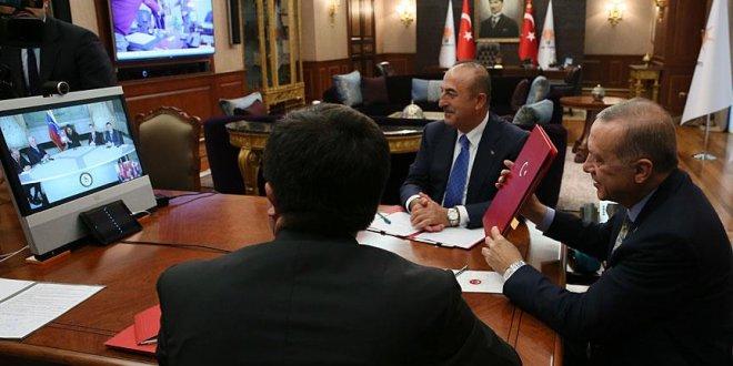 Erdoğan'dan Maduro ile telekonferans