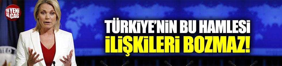 Nauert: Türk Büyükelçi'nin geri çekilmesi ilişkileri etkilemez