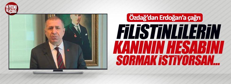 Özdağ'dan Erdoğan'a çağrı