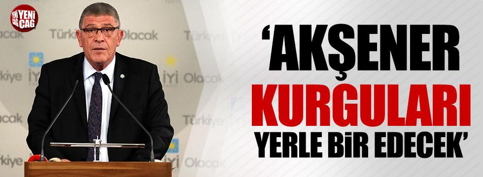 Müsavat Dervişoğlu: Akşener kurguları yerle bir edecek