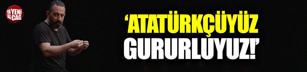 """Cem Yılmaz: """"Atatürkçüyüz, gururluyuz!"""""""