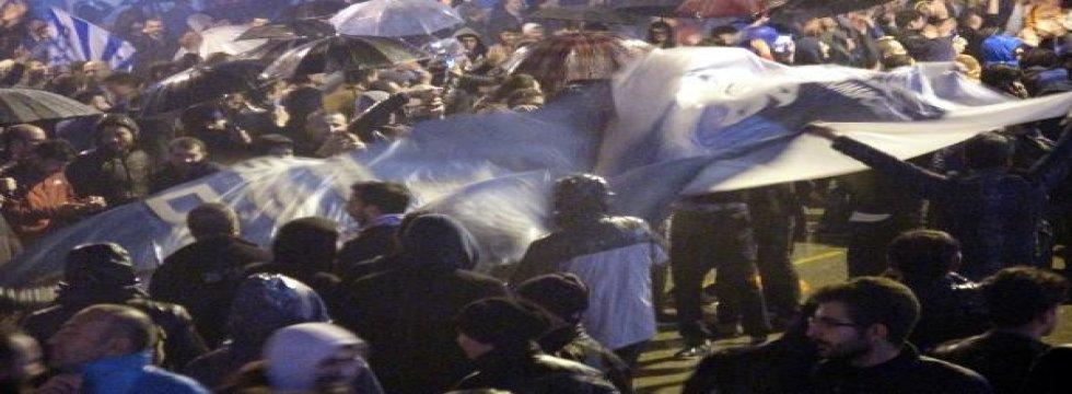 Erzurum'da Süper Lig kutlamaları