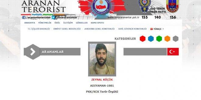 Gri listedeki PKK'lı öldürüldü