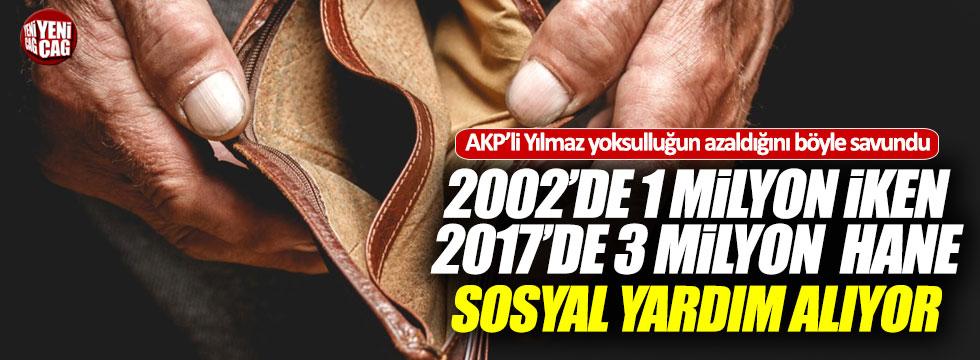 """AKP Genel Başkan Yardımcısı: """"Yoksulluk oranını azalttık"""""""
