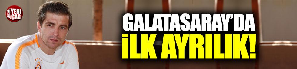 Galatasaray'da ilk ayrılık