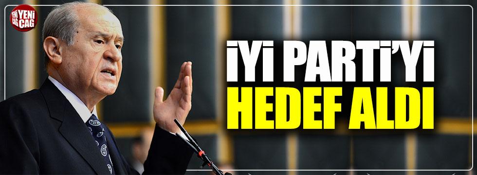 Devlet Bahçeli İYİ Parti'yi hedef aldı