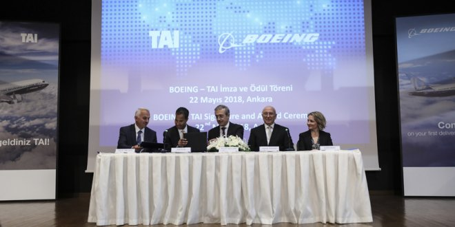 Boeing ile yeni anlaşma