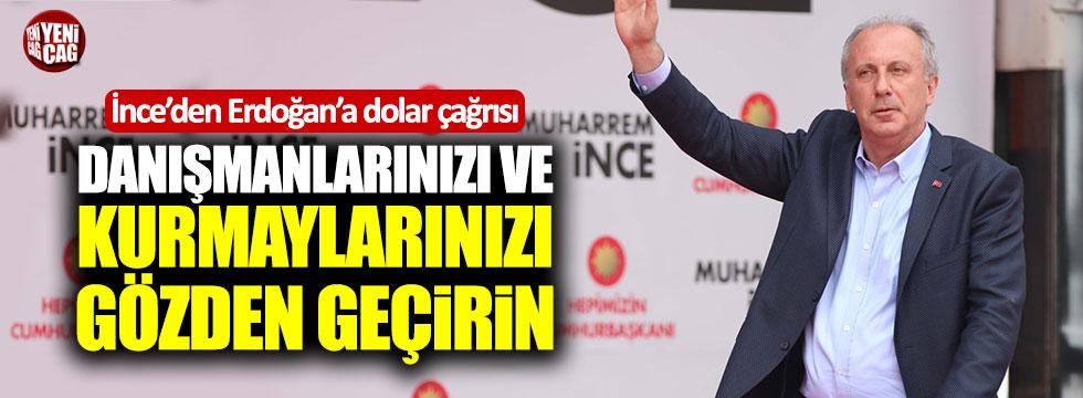İnce'den Erdoğan'a çağrı