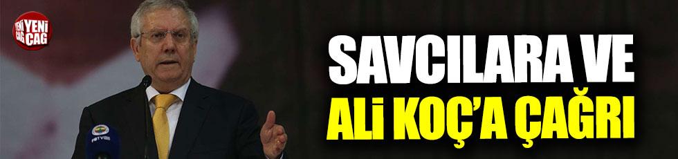 Aziz Yıldırım'dan savcılara ve Ali Koç'a çağrı