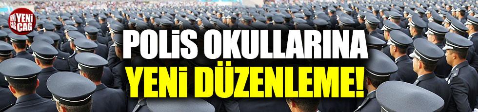 Polis okullarında yeni düzenleme
