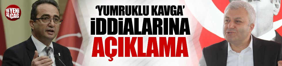 'CHP'de kavga' iddialarına açıklama