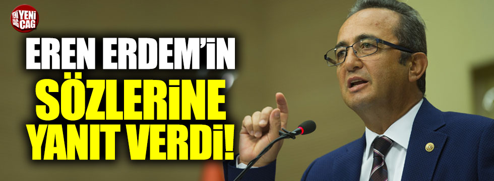CHP'li Bülent Tezcan, Eren Erdem'in sözlerine yanıt verdi!