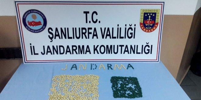 Şanlıurfa'da 2 uyuşturucu tutuklaması