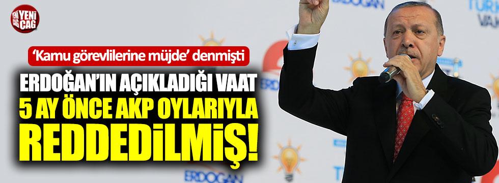 AKP beyannamesinde 'kamu' detayı: Reddetmişlerdi