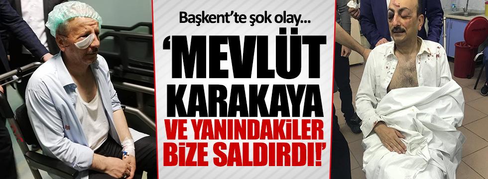 Ankara'da Saadet Partililere saldırı! Yaralılar var...