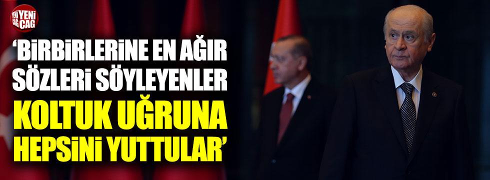 Özgür Özel'den Bahçeli ve Erdoğan'a sert sözler