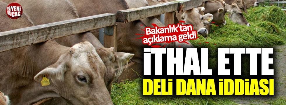 İthal edilen etler hastalıklı çıktı iddiası