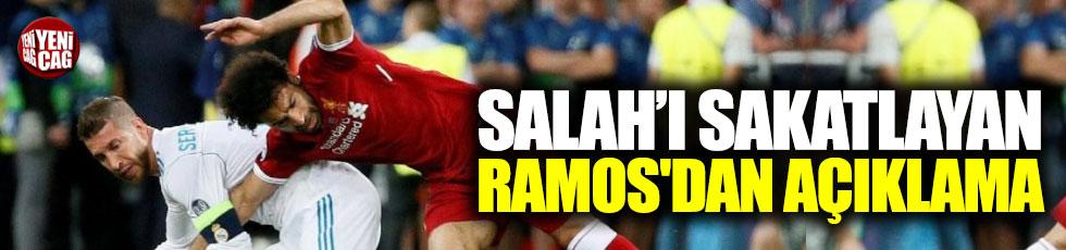 Salah'ı sakatlayan Ramos'dan açıklama