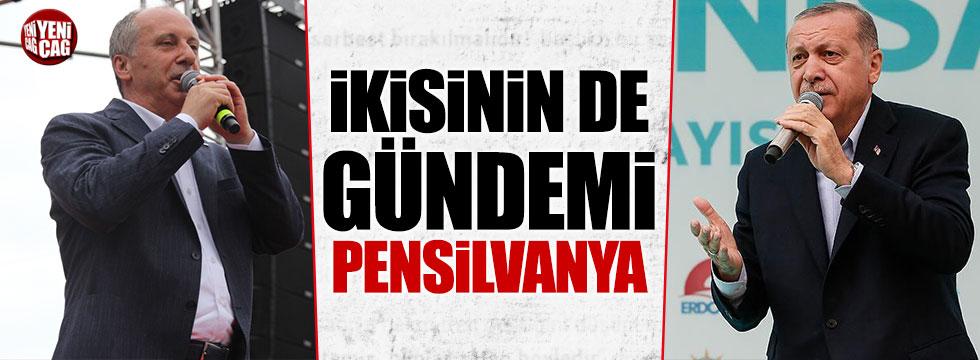 İnce'den Erdoğan'a 'Pensilvanya' cevabı