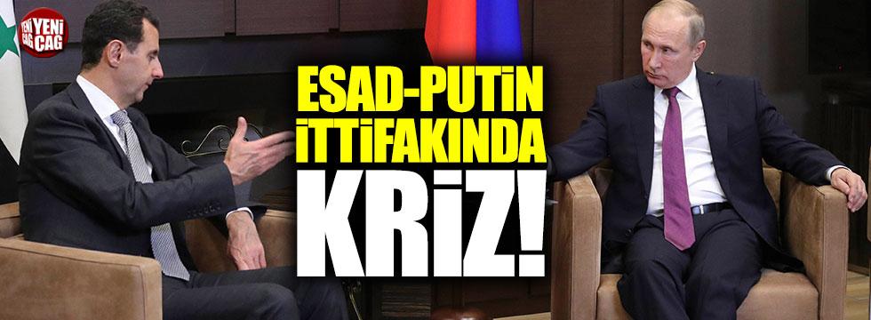 Putin-Esad ittifakında yağma krizi çıktı