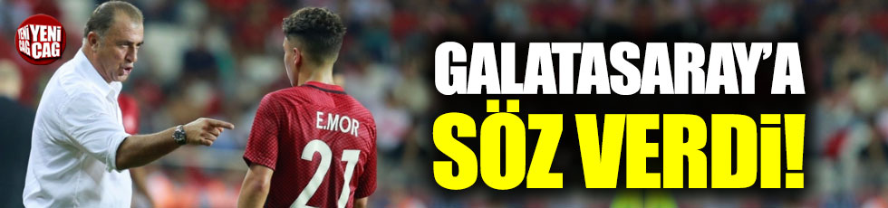 Emre Mor Galatasaray'a söz verdi