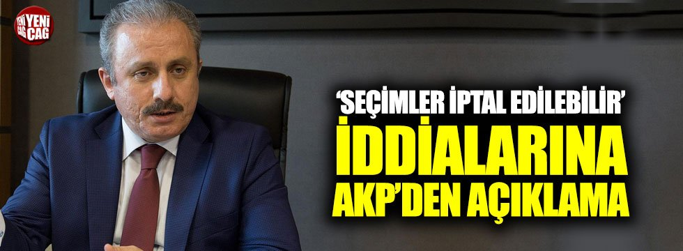 AKP'den seçim iptal edilebilir iddialarına cevap