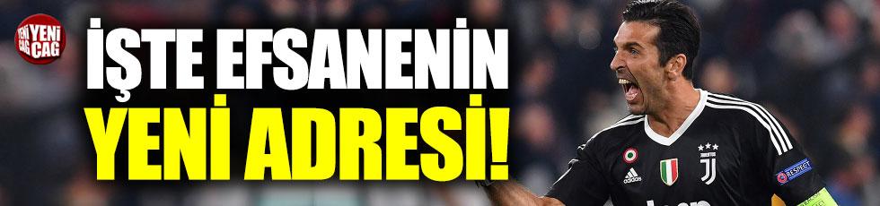Buffon, PSG ile anlaştı