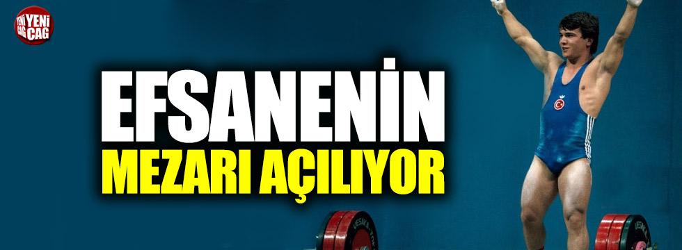 Naim Süleymanoğlu'nun mezarı açılıyor