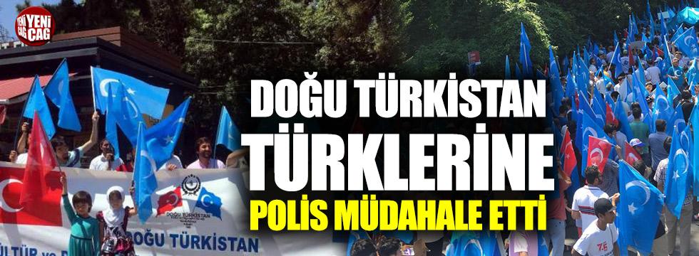 Doğu Türkistan Türklerine polis müdahalesi