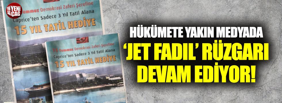 'Jet Fadıl' 15 Temmuz vurgulu reklamlarını sürdürüyor