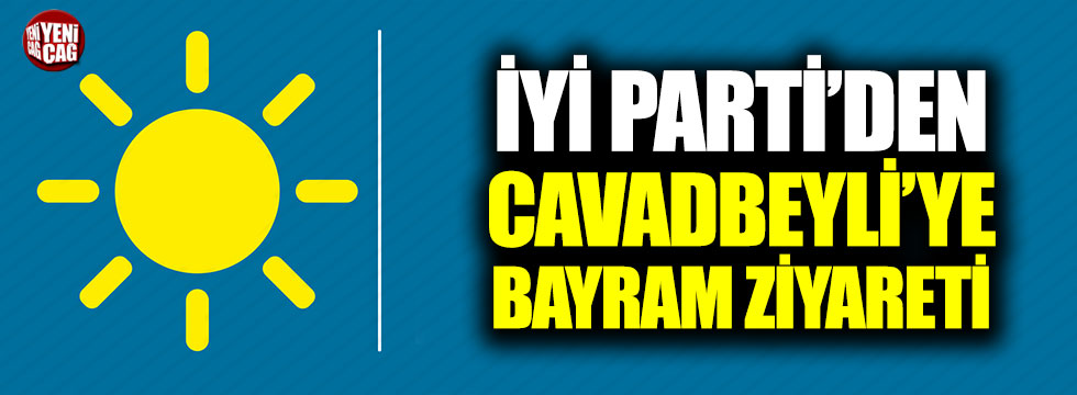 İYİ Parti'den Cavadbeyli'ye bayram ziyareti