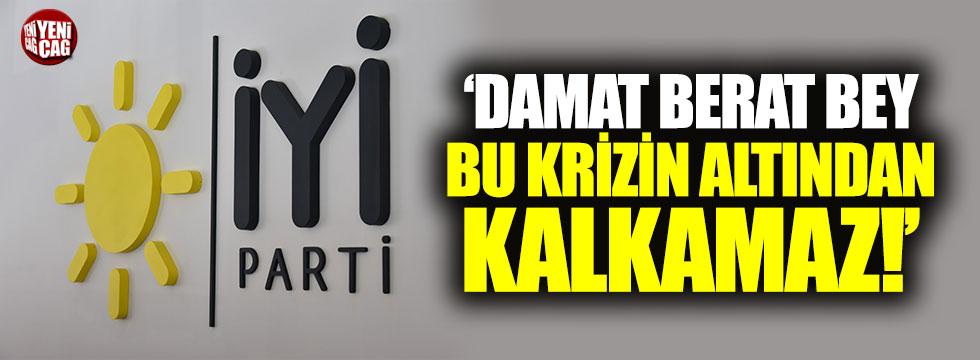 """İYİ Parti'den ekonomik kriz çıkışı: """"Damat Berat..."""""""