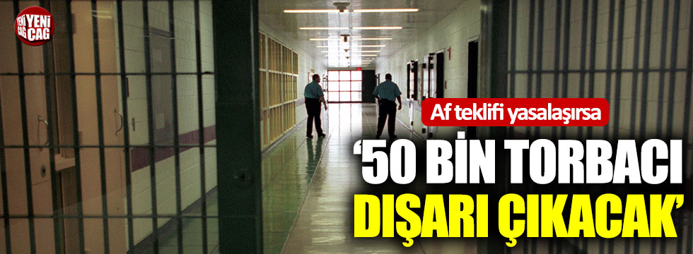 TBB Başkanı Feyzioğlu: 50 bin torbacı dışarı çıkacak
