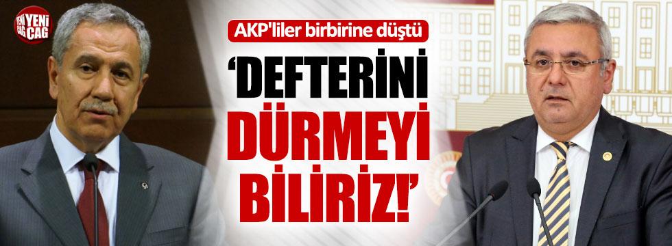 "AKP'li Metiner'den Arınç'a: ""Defterini dürmeyi..."""