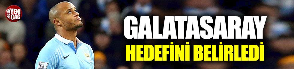 Galatasaray'da hedef Kompany