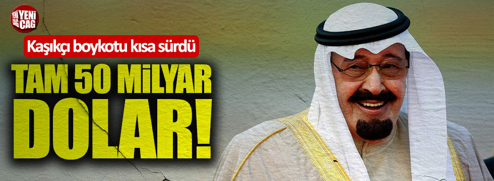 Suudilerle 50 milyar dolarlık sözleşme imzaladılar
