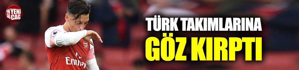 Mesut Özil, Türkiye'ye göz kırptı