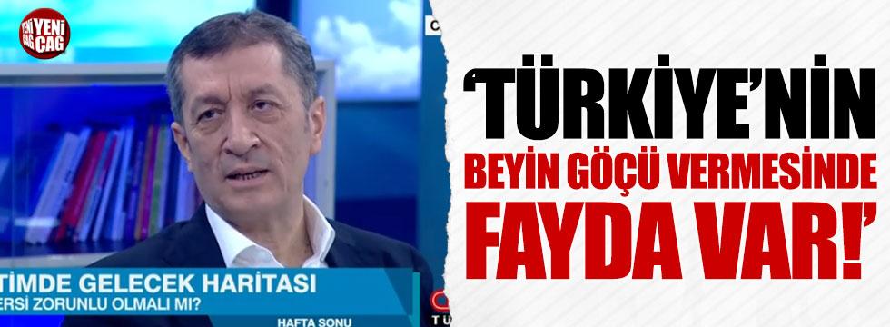 """Ziya Selçuk: """"Türkiye'nin beyin göçü vermesinde fayda var"""""""