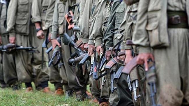Gri kategoride aranan PKK'lı teslim oldu