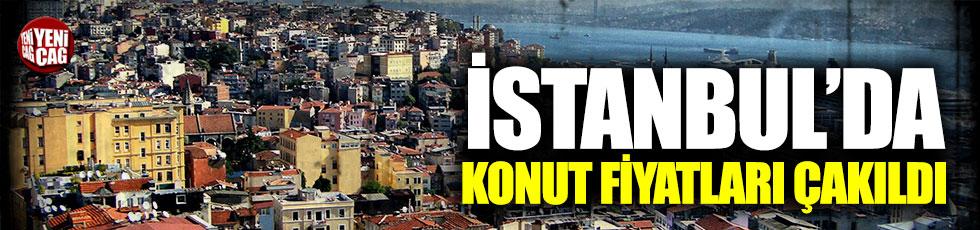 İstanbul'da konut fiyatları yüzde 6,3 düştü