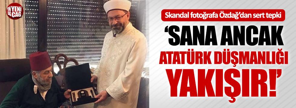 Ümit Özdağ'dan skandal fotoğrafa sert tepki!