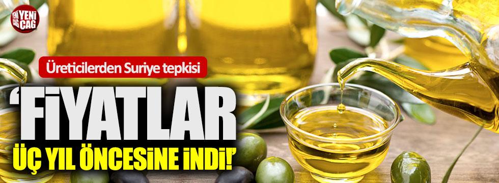Zeytinyağı üreticilerinden Suriye tepkisi!